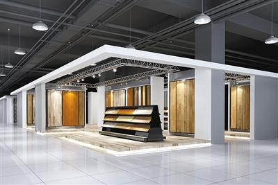 建材展厅设计图