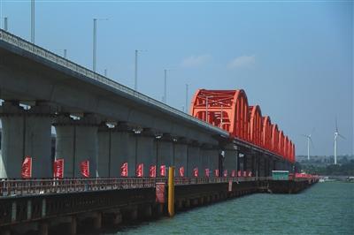京张高铁跨官厅水库特大桥主体完工