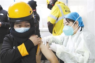 今日起北京重点人群接种第二剂新冠疫苗